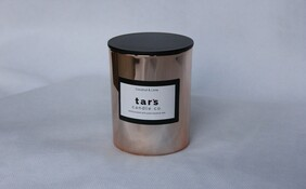 Luxe Tumbler Candle - Rose Gold